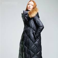 2019 womens quilted jackets with fur hood women winter 2016 with real fur hooded long puffer jacket hood coat white russian from stepheen 175 72 dhgate