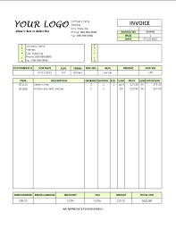 Invoice Example Shipment International Commercial Template Blank. 12 ...