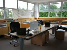 home office workspace. Fresh Clean Workspace Home. Home Office Interior Carpet Window Laptop Finemerch.