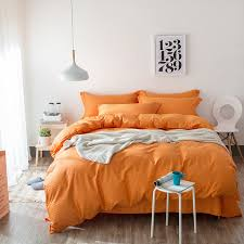 solid colored yellow green blue pink white orange striped bedding orange and white bedding