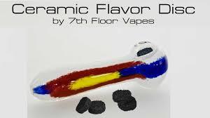 7th floor vapes ceramic flavordisc