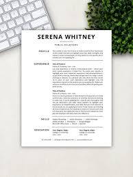 Professional Resume Template Cv Template Resume Template Word Pages Free Cover Letter References Instant Download Resume