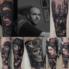 мастер класс от сергея бутенко Tattoo сollection 2019