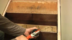 How To Hardwood Stairs Installing Hardwood Stairs With Side Stringer Veneer All Square