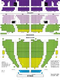 Music Hall Center Detroit Seating Chart Rent Music Hall
