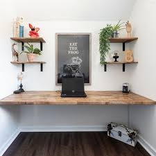 diy floating desk the navage patch