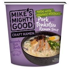 photo of pork tonkotsu flavor ramen noodle soup