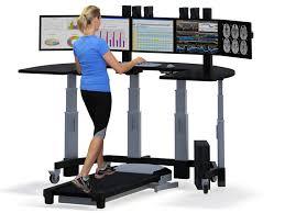 standing desk treadmill workstation