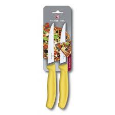 <b>Набор</b> из 2 <b>ножей</b> для стейка и пиццы VICTORINOX SwissClassic ...
