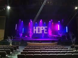 church lighting ideas. hope floats church stage design ideas lighting i