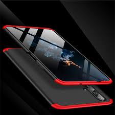 For Huawei Nova 5T phone case 6.26 inch <b>PC hard Matte</b> 360 3 in 1 ...