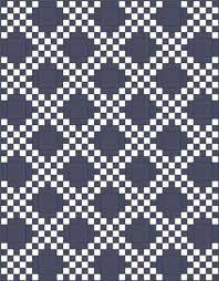 Double Irish Chain Quilt Pattern: Easy Quilt Block, Easy Quilt Pattern & Double Irish Chain Quilt Pattern - straight set Adamdwight.com