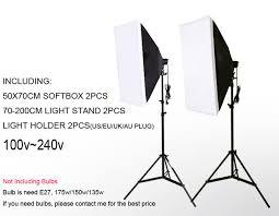 dhl free single lamp softbox photo light softbox set photographic equipment photo studio light stand