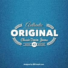 Pants Logos Classic Denim Jeans Logo Vector Free Download