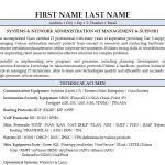 Modern Network Administrator Resume Network Administrator Resume Luxury Network Engineer Resume Examples
