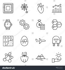 Wallpaper Chart Calculator Thin Line Icon Set Chart Vector Stock Vector Royalty Free