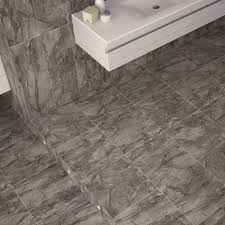 dreire high gloss floor tiles dark grey