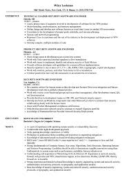 Software Engineer Resume Examples Security Software Engineer Resume Samples Velvet Jobs 90