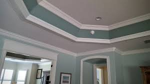 Great Room Tray Ceiling Trim