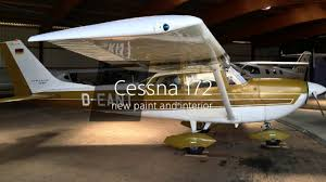1970 cessna 172 red with new paint and interior