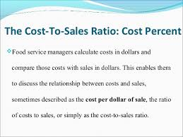 Cost And Sales Concepts