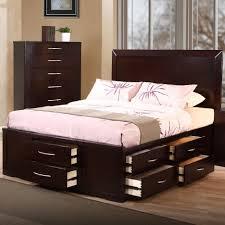 Phoenix Bedroom Furniture Storage Queen Platform Bed Frame With Storage Phoenix Size Drawers