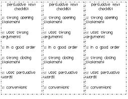 Persuasive Essay Topics Third Grade 10 Persuasive Writing