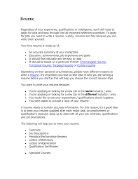 ... Proper Format Of A Resume 6 Correct Format For A Resume Retail Example  Entry Level Httpwwwresumecareerinfo ...
