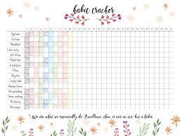 Tracking Chart Ideas 20 Bullet Journal Ideas Creative Tracker Charts