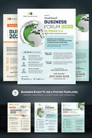 poster psd business event flyer poster psd template 67917