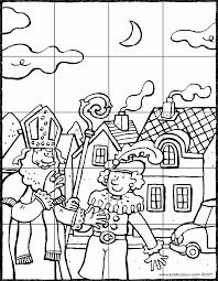 Puzzel Sinterklaas En Zwarte Piet Kiddicolour