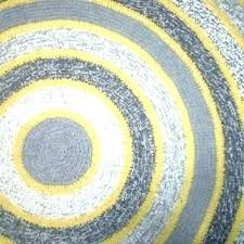 round yellow rug grey and yellow rug rugs for bedroom round crochet home decor gray gray round yellow rug
