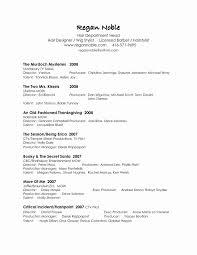 Media Resume Template Tv Producer Resume Template Inspirational 22 Media Resume Templates