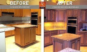 refinishing oak cabinets with glaze kitchen ideas painting white chalk paint
