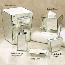 Terrific Crystal Bath Accessories The Home Depot On Bathroom