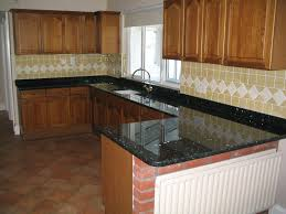 Emerald Pearl Granite Kitchen Kitchen Work Tops