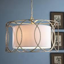 linen drum shade chandelier 29 best shade chandeliers images on