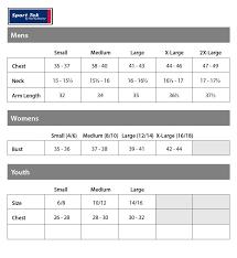Sport Tek Sizing Chart Amerasport