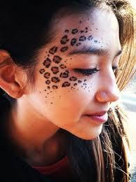 leopard face paint ideas