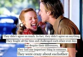 The Notebook Quotes Best Wise Words The Notebook Quotes On We Heart It