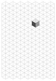 patterns to draw on graph paper isometric drawing