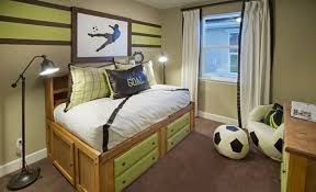 Score Some Decorating Inspiration From This Soccer Themed Bedroom From  Lennar! #soccer #