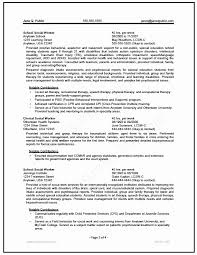 Child Welfare Worker Sample Resume Delectable Child Protection Report Template New Clinical Social Worker Resume