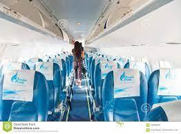 Bangkok Airways Airplane Interior Editorial Image - Image of thai,  airplane: 106286545
