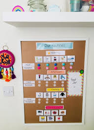 Getting Your Children Into A Routine Diy Routine Board