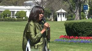 White House Kitchen Garden First Lady Michelle Obama Plants The White House Kitchen Garden