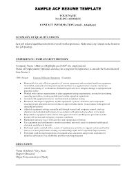Resume Email Address Resume