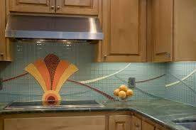 Art Deco Kitchen Hand Made Art Deco Kitchen Backsplash By Lynn Adamo Fine Art