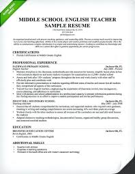 Resume Templates Teachers Sample Of Teaching Resume Airexpresscarrier Com