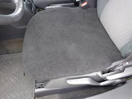 bottom seat covers faux sherpa one only